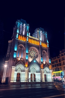 Basilique Notre-Dame at the center of Nice