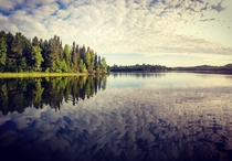 Basswood Lake Boundary Waters Minnesota  x