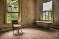 Bathtub with a view From the Stonewall Jackson Reform School in CharlotteNC  Photo by Stacy White