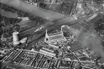 Battersea Power Station from the air  x-post from rlondon