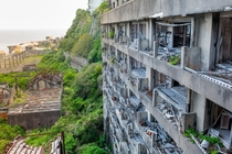 Battleship Island - Abandoned apartments on an old industrial island in Japan