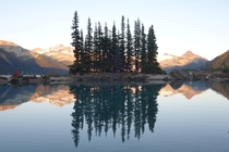 Battleship Island at sunset Garibaldi Lake British Columbia