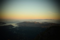 Bay Area from the peak of Mt Tamalpais
