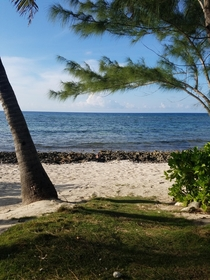 Beach behind my house OC Cayman Islands x