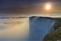 Beachy Head in East Sussex  photo by Rhys Davies