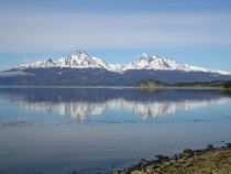 Beagle Channel in Tierra del Fuego Natioanal Park Argentina