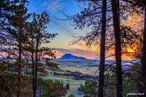 Bear Butte Mountain Sturgis South Dakota