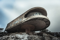 Beautiful abandoned Soviet architecture Photo by Laurent Burnier