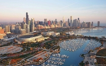 Beautiful Aerial Photograph of Chicago