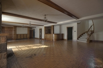 Beautiful Ballroom Inside an Abandoned Mansion in Ontario Untouched by Vandals
