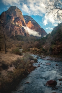 Beautiful Canyons of Zion National Park Utah