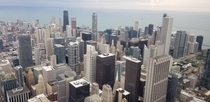 Beautiful Chicago Illinois from Sears Tower
