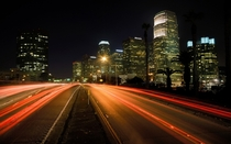 Beautiful City Night - Los Angeles California