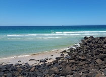Beautiful clear water at Byron Bay AUS