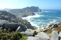 Beautiful Coastline Of Galicia Spain