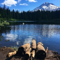 Beautiful day at Burnt Lake Mt Hood Wilderness OC