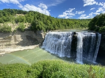 Beautiful day at Letchworth State Park in Western New York
