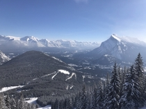 Beautiful Day in Banff AB