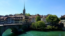 Beautiful day in Bern Switzerland