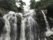 Beautiful falls in Tobago Trinidad and Tobago