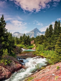 Beautiful Glacial Creek Montana Taken by Michael Blanchette