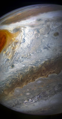 Beautiful Jupiter wallpaper by Juno space probe - Picture by NASA