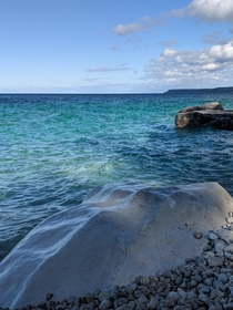 Beautiful Lake Huron - Halfway Log Dump Bruce Peninsula Ontario Canada