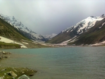 Beautiful Lake Saif-ul-Malook in Naran Valley of Pakistan  by Adnan Shahid