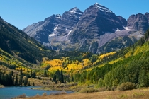 Beautiful Maroon Bells Colorado