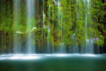 Beautiful Mossbrae Falls