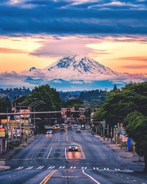 Beautiful Mount Rainier Washington