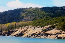 Beautiful Mountainside Acadia National Park