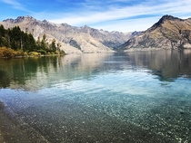 Beautiful pic of Lake Wakatipu Queenstown New Zealand that my Girlfriend took  x