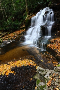 Beautiful place Blackwater Falls State Park West Virginia USA