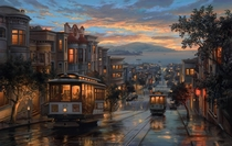 Beautiful Portrait of San Fransico