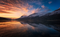 Beautiful reflections in Northern Norway by Stian Klo