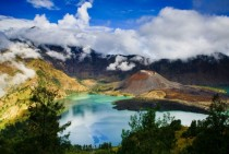 Beautiful Rinjani Mountain