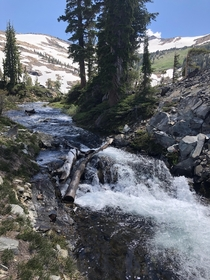 Beautiful river in Desolation Wilderness CA