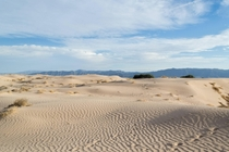 Beautiful Sand Dunes at Dunas de Bilbao Mexico OC