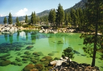 Beautiful Sand Harbor at Lake Tahoe Nevada