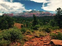 Beautiful Sedona AZ You really do have to go there to believe that the rock is really as red as the internet makes it out to be