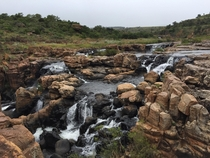 Beautiful series of waterfalls South Africa