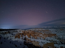 Beautiful shot of Bryce Canyon National Park  x