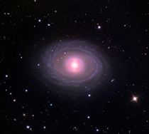 Beautiful spiral galaxy  million light years away