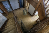 Beautiful staircase in vacant Ontario house OC