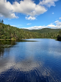 Beautiful Sterling Pond at Smugglers Notch VT