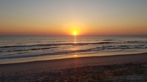 Beautiful Sunrise over the Atlantic - Melbourne Beach Florida