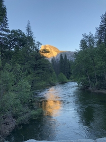 Beautiful Sunset at Yosemite