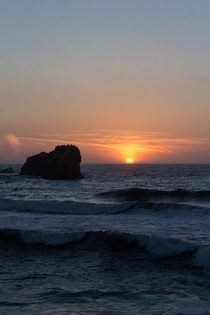 Beautiful Sunset in Pacifica California