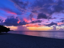 Beautiful sunset in St Georges Grenada Nothing beats Caribbean sunsets